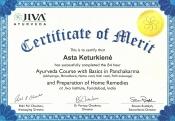 Astos Pachakarmos sertifikatas01